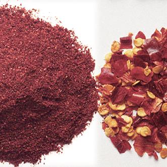Chilli Powder and Chilli Flakes
