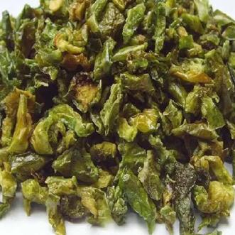 Peperone verde disidratato